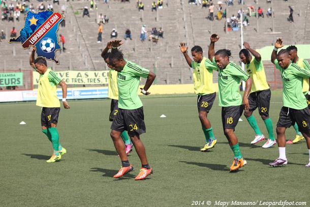 CAF-LDC : V.Club quitte Kinshasa mercredi soir