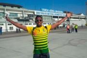 Samuel Eto'o et les lions indomptables sont arrivés au Brésil