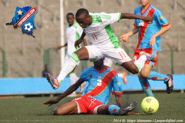 Les Léopards U-17 en route pour le Nigeria