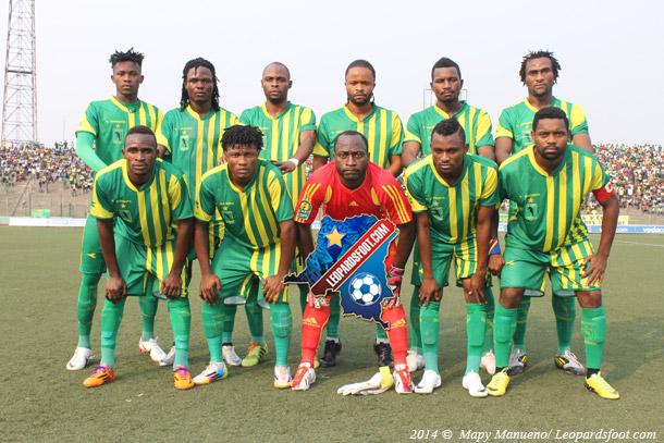 CAF-LDC : V Club à kinshasa ce lundi