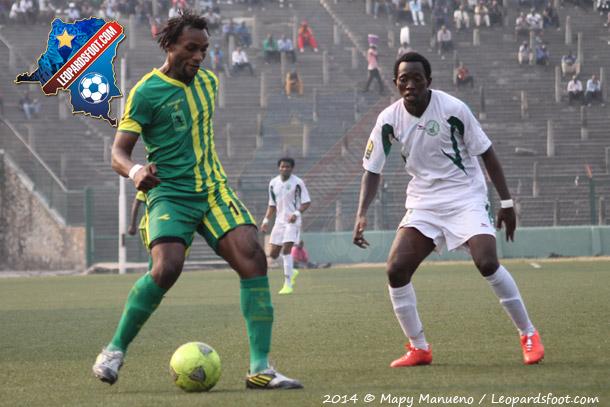 Amical : As V Club vs Coton Sport : 1-0