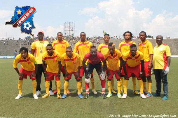 Sanga Balende en préparation à Kinshasa