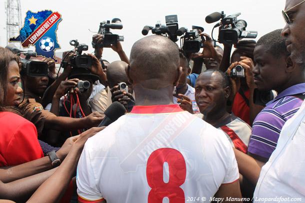 Léopards : les 26 d'Ibenge pour la Centre Afrique