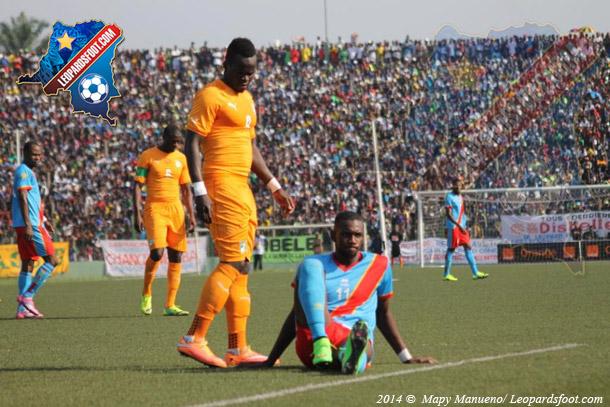 Eliminatoires CAN 2015 : RDC vs Côte d'Ivoire : 1-2