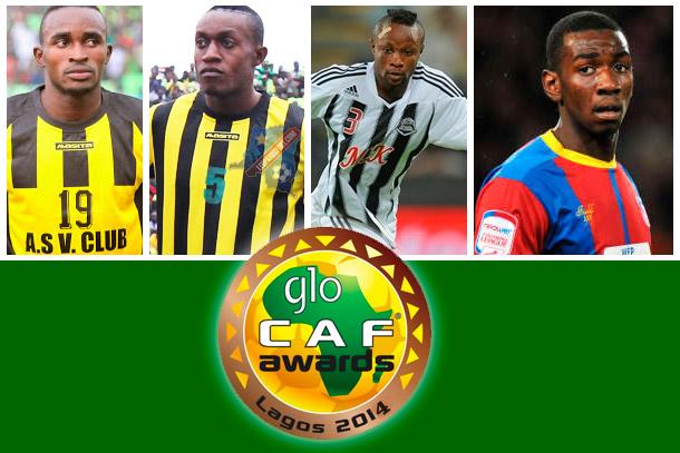 Glo Caf Awards : 4 congolais nominés