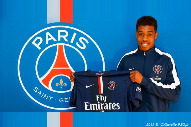 Premier contrat pro pour Kimpembe au PSG