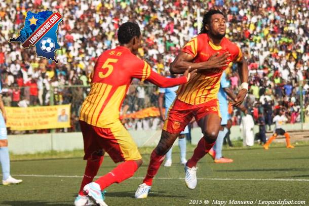 CAF-LDC : Sanga Balende vs Recreativo : 2-0