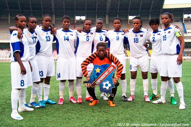 Football féminin : RD Congo vs Gabon ce samedi
