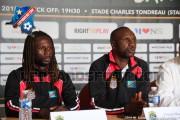 Léopards : Ibenge et Ndongala en conférence de presse