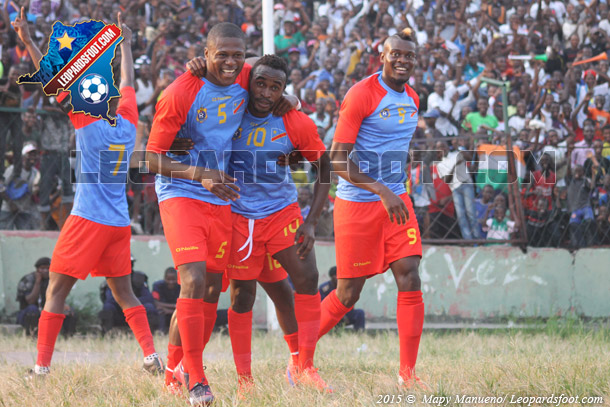 Eliminatoires CAN 2017 :  RD Congo vs Madagascar : 2-1