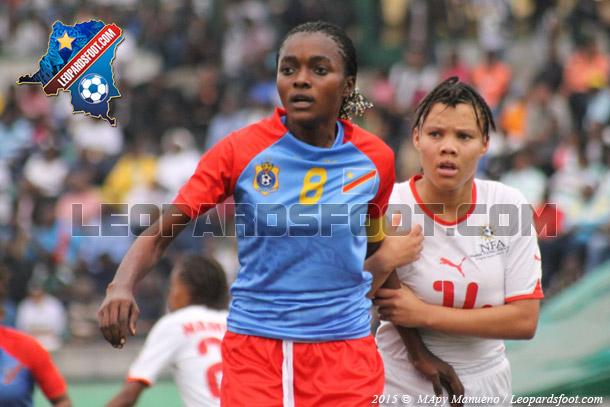 Eliminatoires CM U20 dames : RD Congo vs Namibie : 4-0