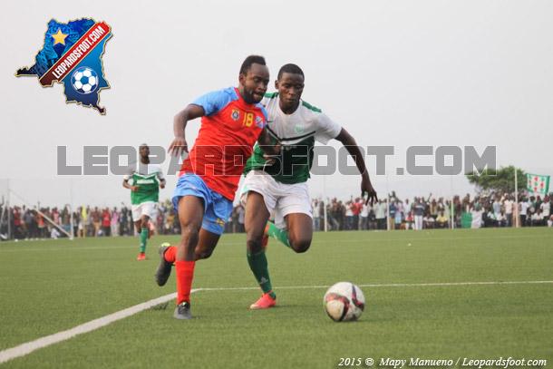 Léopards : double victoire en amical face à V Club et au Daring