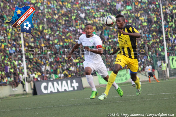 LINAFOOT : le DCMP s'impose 1-0 face à l'AS V Club