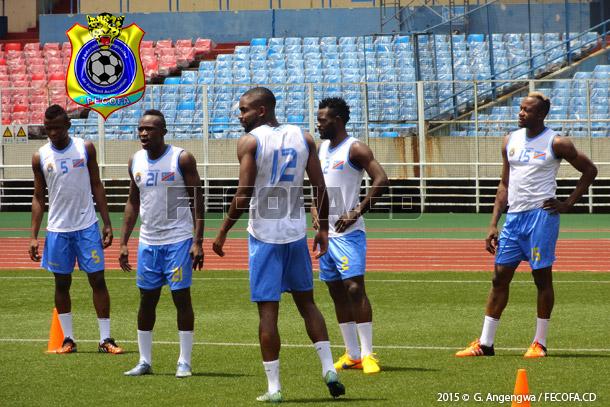 Léopards : dernière séance d'entraînement avant Bujumbura