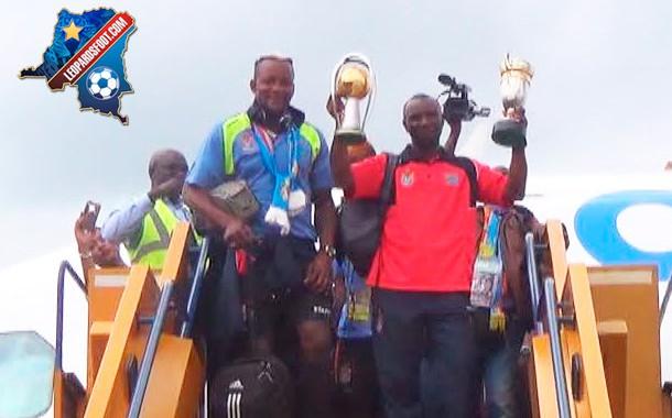 Décorés ce midi, les Léopards présenteront leur trophée mercredi au Stade des Martyrs