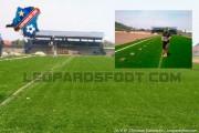 GOMA : Le Stade de l'Unité change son tapis noir pour un synthétique