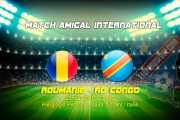 Officiel : Roumanie vs RDC le 25 mai à St. Vincent (Italie)