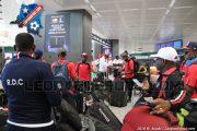 Léopards : la délégation congolaise est arrivée en Italie