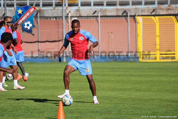 Léopards : dernière séance d'entraînement au Stade de Como
