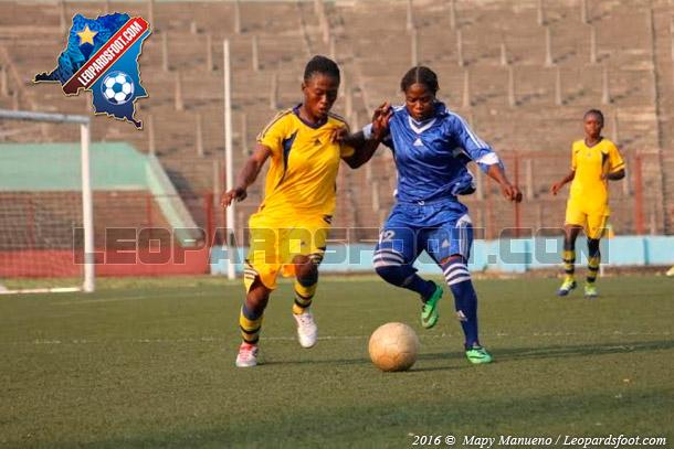 Foot féminin / Coup d'envoi de la 9ème édition de la coupe du Congo
