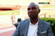 Florent Ibenge parle des léopards sur Talents d'Afrique