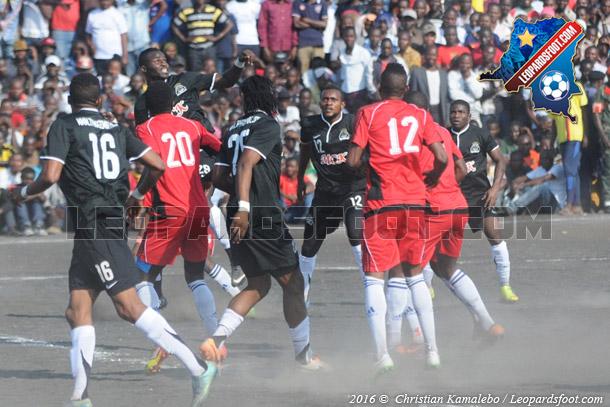 Linafoot play-offs : Dauphin noir et Mazembe se neutralisent à Goma (1-1)