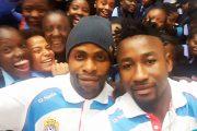 Cosafa Cup : Les léopards en visite dans une école