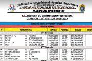 LINAFOOT : DCMP vs Renaissance le 10 septembre à Kinshasa