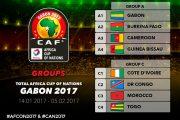 CAN 2017 : La RDC avec le Maroc, le Togo et la Côte d'Ivoire