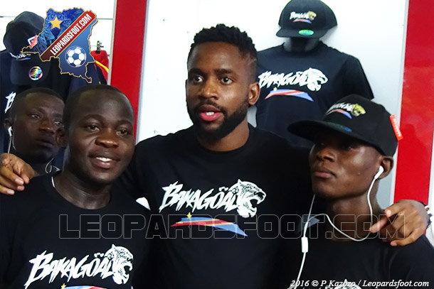 Cedric Bakambu lance sa marque Bakagoal à Kinshasa