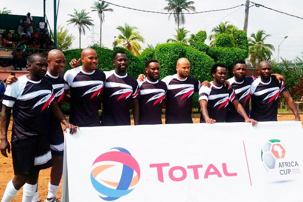 Herita Ilunga rechausse les crampons à l'occasion de la Total Africa Cup 2016