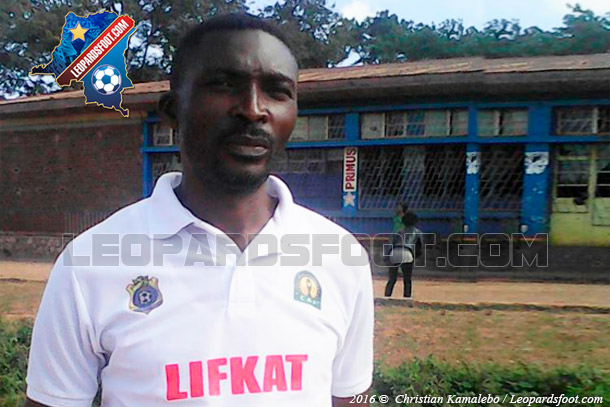 Portrait : Chryso Mukendi ancien joueur, aujourd'hui entraîneur de Lubumbashi Sport