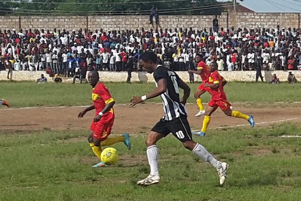 EUFMAYI : AS Bantous mène la danse au championnat de football de Mbuji-Mayi