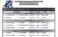 Linafoot zone Est : le programme des sept derniers matches connu