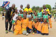 IBENGE en visite au Centre d'Initiation et de Perfectionnement en Football