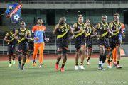 Léopards : Première séance d'entraînement à Kinshasa