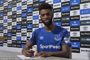 Everton : Baningime prolonge !