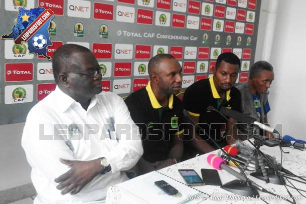 Ibenge : « V.Club veut aller jusqu'au bout du dernier match du 2 décembre 2018 »