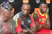 Florent Ibenge et Sunday Chidlambla face à la presse