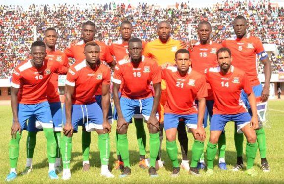 La pré-liste de la Gambie contre la RDC !