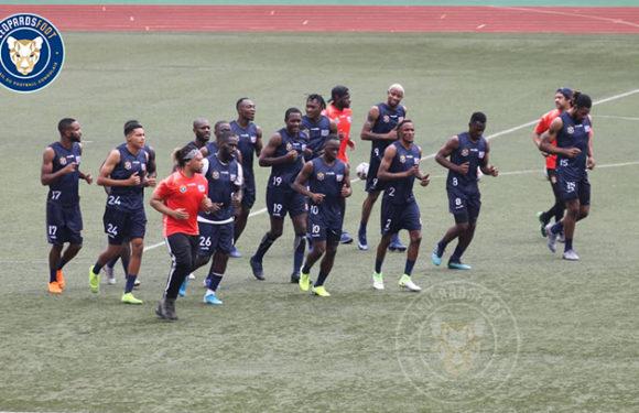 Q. CAN 2021 : Première séance d'entraînement des Léopards