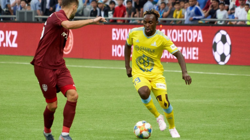 Officel: Mubele quitte Astana ! 