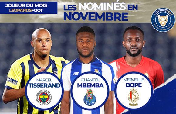 Qui est votre Léopard du mois de novembre ?