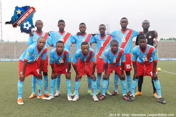 Les U17 au tournoi de l'UNIFFAC du 3 au 15 avril à Limbé