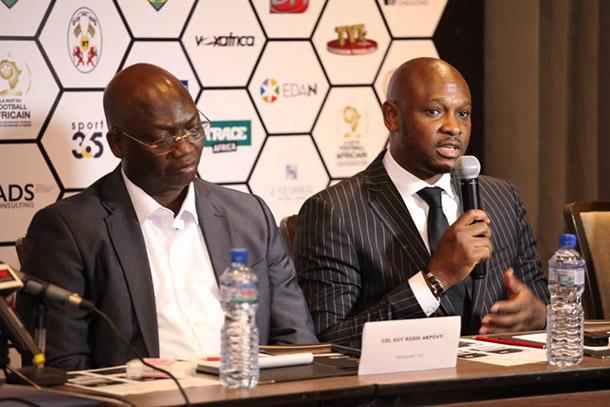 Le TOGO va accueillir la 6ème édition de la Nuit du Football Africain