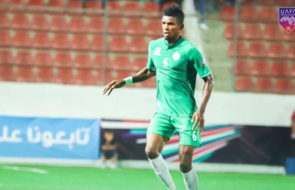 Fabrice Ngoma buteur en Ligue des champions Arabe