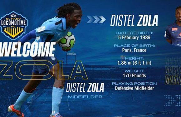 Transfert : Distel ZOLA signe 2 ans aux Etats-Unis