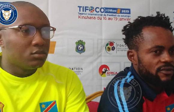 TIFOCO : L'avant-match entre Guy Bukasa et Barthélémy Ngatsono