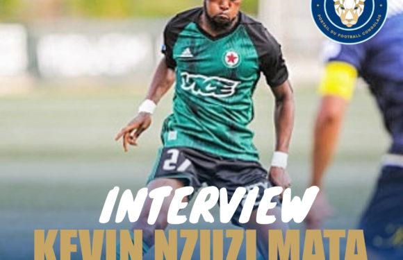 """Kevin Nzuzi Mata : """" je suis favorable à la reprise du championnat """""""