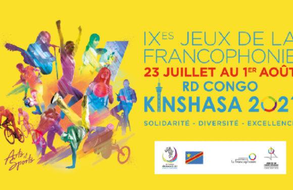 Report envisagé des Jeux de la Francophonie 2021 de Kinshasa  !